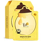 Papa Recipe Bombee Honey Mask Pack, 10 Count