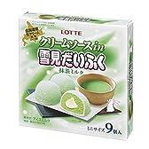 ロッテ クリームソースin雪見だいふく 抹茶ミルク 8入
