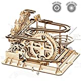 ROKR 3D Wooden Puzzle Mechanical Gears Set DIY Assembly Model Kits Wooden Craft Kits Brain Teaser Games Building Set Best Christmas Birthday Adults & Kids Age 14+ ¡