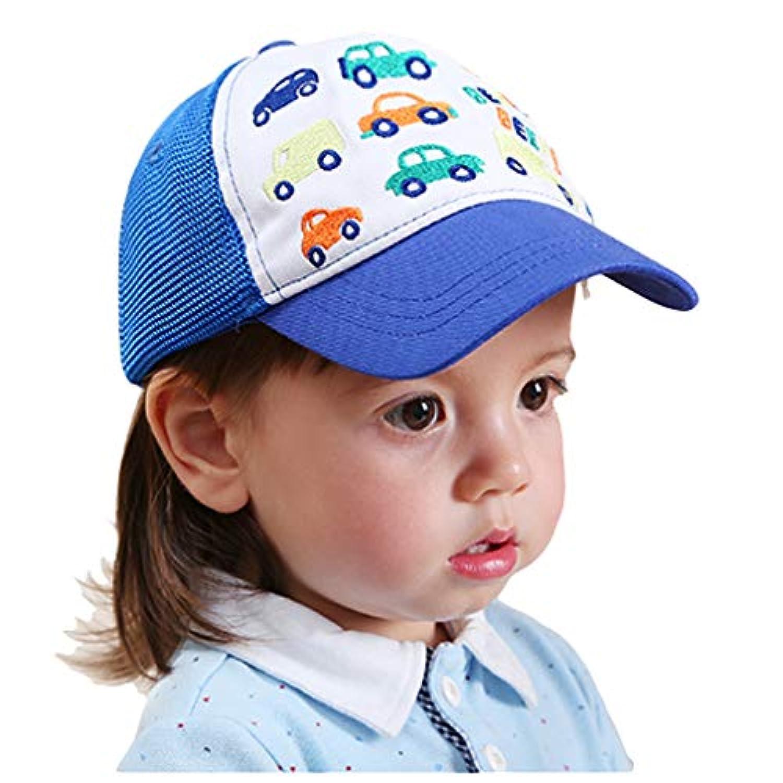 pekabo ベビー キャップ 女の子 男の子 ベースボール キャップ 帽子 無地 カーブキャップ 帽子 男女兼用