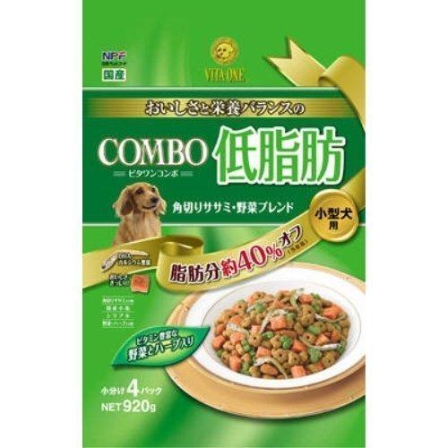 日本ペット コンボドッグ 低脂肪 角りささみ 野菜ブレンド 920g