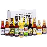 【WEB限定】輸入ビールスタイル別飲み比べ10本パック & ビールスタイル別グラス3個セット