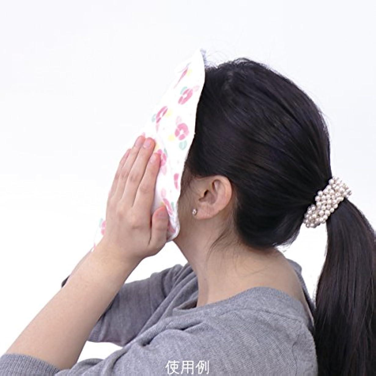 ホバーポテト精神医学ぬか乙女 蒸しタオルマスク 桃
