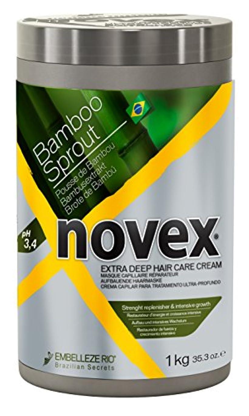 Novex Novex竹製ヘアマスク、1キログラム