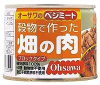 オーサワジャパン ベジミート 穀物で作った畑の肉(ブロックタイプ) ×4セット