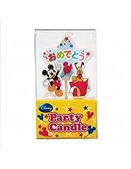 ディズニー( Disney ) ディズニーパーティーキャンドル【ケーキ用キャンドル】 「 ミッキー 」