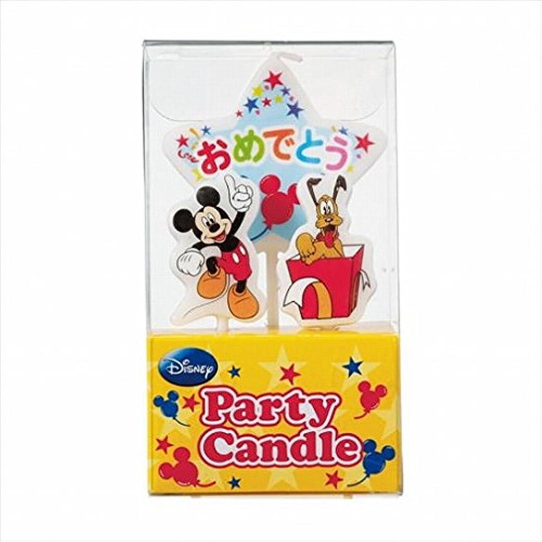 潤滑する奨励強打ディズニー( Disney ) ディズニーパーティーキャンドル【ケーキ用キャンドル】 「 ミッキー 」