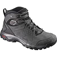 Salomon Men's Evasion 2 Mid Leather Gore-Tex Hiking Boot, Magnet/Phantom/Quiet Shade