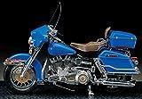 1/10アカデミーハーレーダビッドソンクラシックモデルキットモーターサイクルモデリング有名なオートバイの7,80で 1/10 Academy Harley Davidson Classic Model Kits Motorcycle Modeling of Famous Motorcycle in the 7,80's [並行輸入品]