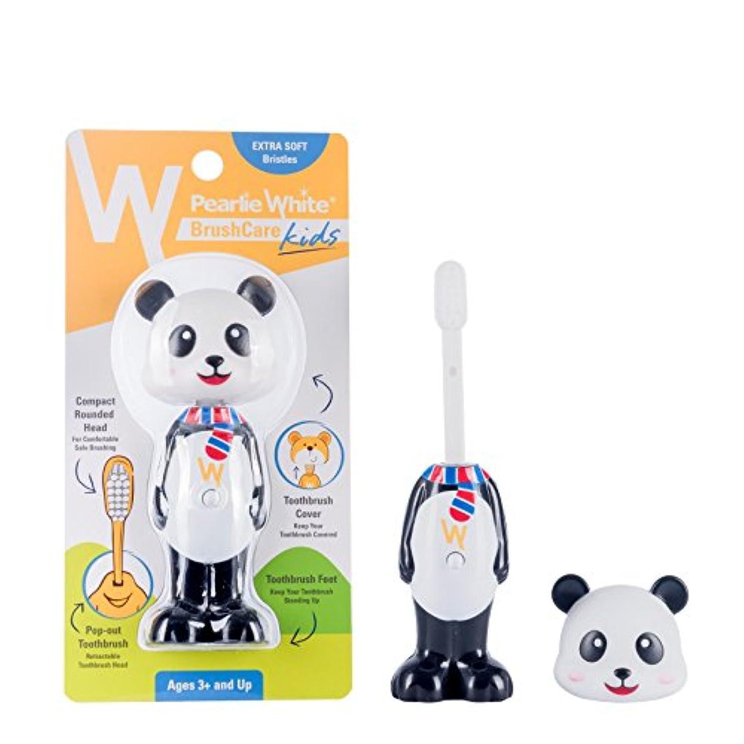 風が強い可愛いスキャンPearlie White(パーリーホワイト) ブラシケア キッズ PANDA(パンダ) (1本)