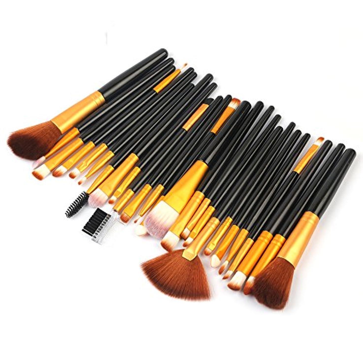 悲惨なバリケードフレキシブルAkane 25本 プロ 高級 魅力的 高品質 綺麗 美感 たっぷり セート 多機能 使いやすい おしゃれ 便利 柔らかい 激安 日常 仕事 Makeup Brush メイクアップブラシ HJ25