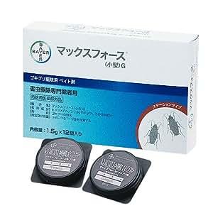 マックスフォースG 12個入 プロが使うゴキブリ用毒餌剤 (医薬部外品)