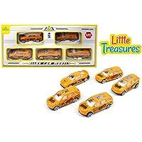 Diecast construction fleet alloy toy car models play set