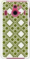 ohama F-03F Disney Mobile on ディズニーモバイル ハードケース t008_f 和柄 三重襷風 たすき 菱形 スマホ ケース スマートフォン カバー カスタム ジャケット docomo