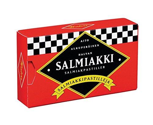 Halva ハルヴァ サルミアッキ グミ 34g入り Halva Salmiakki 34g Aito フィンランドのお菓子です [並行輸入品]