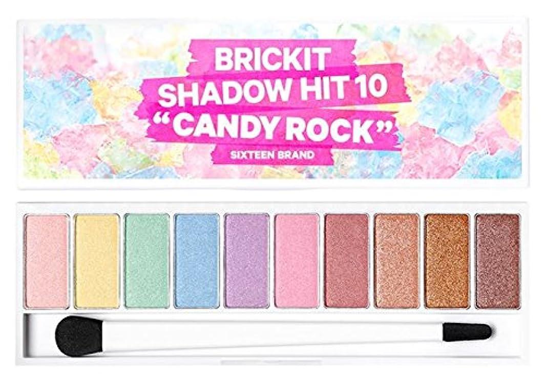 メルボルンライド幸運なことに16brand Sixteen Brickit Shadow Hit 10 Candy Rock 10g/16ブランド シックスティーン ブリックキット シャドウ ヒット 10 キャンディロック 10g [並行輸入品]
