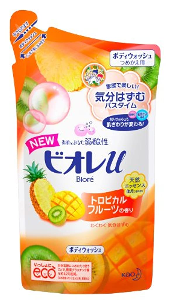 スナップチョコレート暖かさビオレu トロピカルフルーツの香り つめかえ用