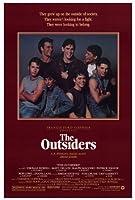 The Outsidersポスター27x 40C。トーマス・ハウエルMatt Dillonラルフ・マッチオ