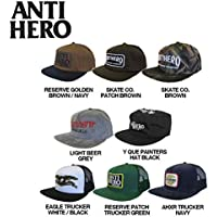 【ANTI HERO】アンタイヒーロー2016春 SNAPBACK/TRUCKER HAT メンズキャップ 帽子/アンチヒーロー