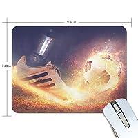 Jiemeil マウスパッド ワールドカップ サッカー ラバー 高級感 おしゃれ 滑り止め PC  かっこいい かわいい プレゼント ラップトップ MacBook pro/DELL/HP/SAMSUNG などに プレゼント