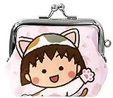ちびまる子ちゃん 財布 がま口 ちびまる子にゃん ピンク RM-4954