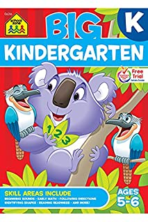 Big Kindergarten Workbook (Big Get Ready Workbook) (0887431461) | Amazon price tracker / tracking, Amazon price history charts, Amazon price watches, Amazon price drop alerts