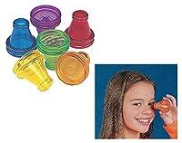 12 Plastic Transparent Prisms [並行輸入品]