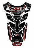 MOTOGRAFIX(モトグラフィックス) タンクパッド YAMAHA QUADPAD(R6/R1) ブラック/レッド MT-TY014KR