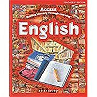 Great Source Access Esl: English Student Journal Teacher's Edition Grades 5 - 12