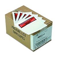 "Top-Print Self-Adhesive Packing List Envelope, 5 1/2"" x 4 1/2"", 1000/Carton (並行輸入品)"