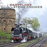 Dampfloks 2020 - Steam Engines - Broschuerenkalender (30 x 60 geoeffnet) - Wandkalender - Eisenbahn - Lokomotive - Wandplaner