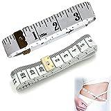 MoToNaテープメジャー 測定工具 測量用品 両面(センチメートル・インチ表示)300cm+150cm 2PCS 巻尺