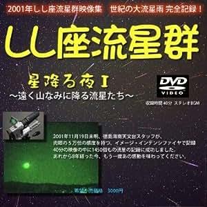 しし座流星群 DVD 星降る夜 遠く山なみに降る流星たち 2001年 映像集