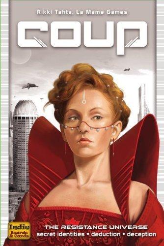 クー (Coup) (Kickstarter Edition) [並行輸入品] カードゲーム