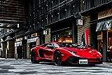 車真 SHASHIN -スーパーカー DESKPAD (下敷き)  - Lamborghini Aventador SV [限定品] A4 SIZESHA-C301