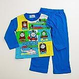 きかんしゃトーマス Tシャツ生地の長袖パジャマ 100cm-130cm(732TM108113) (100cm)
