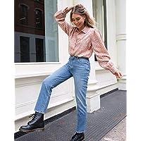 The Drop Women's Croc Print Loose Long Sleeve Button Down Shirt by @viktoria.dahlberg