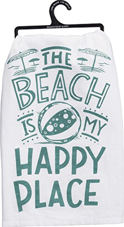 プリミティブby Kathy – ディッシュタオル – Happy Place ( 35663 )