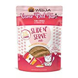 Weruva Slide N' Serve Paté Wet Cat Food, Name 'Dat Tuna Tuna Dinner, 2.8Oz Pouch (Pack Of 12) (Packaging May Vary)