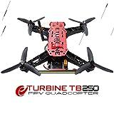 E-TURBINE 250 FPV 5.8G リアルタイムミニクワッドコプター BNF マルチコプター 4軸 3リーフプロペラ付属 組立済み