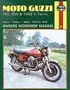 Moto-Guzzi 750, 850 and 1000 V-Twins Owners Workshop Manual, No. M339: 039 74- 039 78 (Owners 039 Workshop Manual)