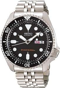 [セイコーimport]SEIKO 腕時計 逆輸入 海外モデル ブラック SKX007KD メンズ