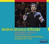 メンデルスゾーン:交響曲 第1番&第3番