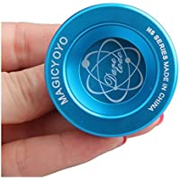 Professional Magic YoYo N8 Dare TO DO Professional Yo-Yo Toy Alloy Aluminum (Blue) YD014BL [並行輸入品]