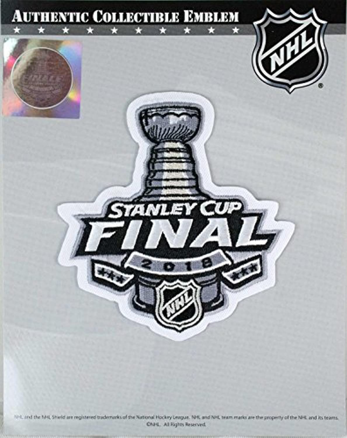 2018 Official NHL Stanley Cup Final Commemorative New Hockey Jersey Patch