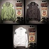 (ライフィーズ) Lifees プチプラ MA-1 ジャケット 3色 春物 トレンド 3色 5サイズ (ブラック)(M)