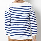 ビショップ メンズ(Bshop) 【ORCIVALオーシバル】ラッセル フレンチセーラーTシャツ【[408]WHT/ROY/3 (S)】