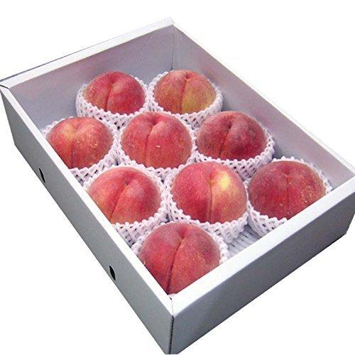 山形県産 秀品 白桃 3kg (約8~10玉) 化粧箱入 桃(もも)