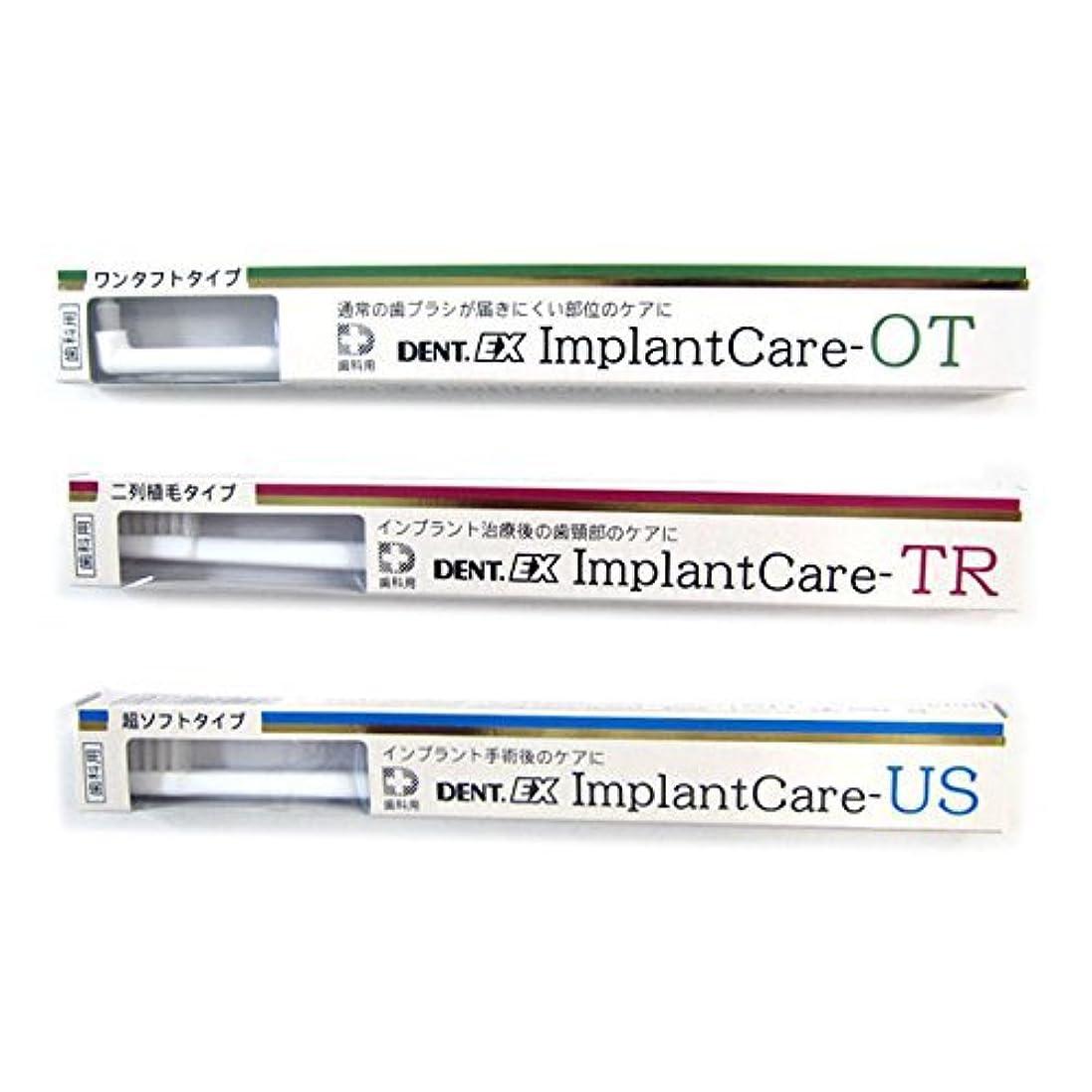 絶滅した小麦小石デント DENT EX ImplantCare インプラントケア 単品 TR(二列)