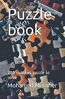 Puzzle book: 200 sudokus puzzle to solve